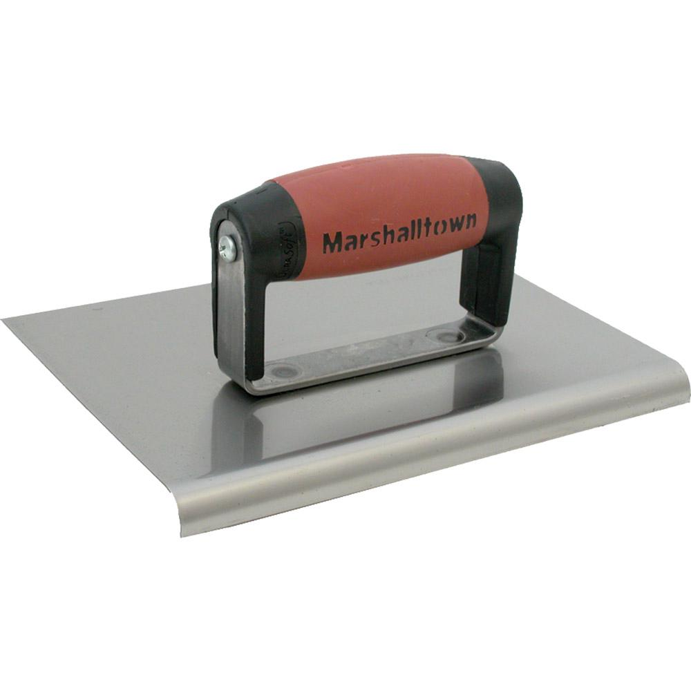 Marshalltown 6 In X 4 1 2 In Stainless Steel Edger With 1 2 In R 166ssd Marshalltown Carbon Steel Stainless Steel