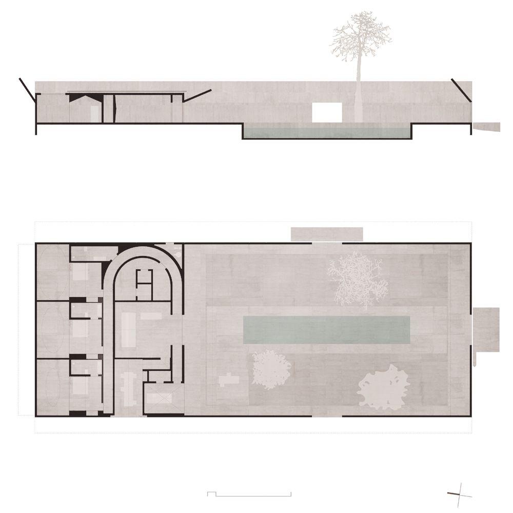 Valerio olgiati villa al m portugal 2014 for Raumgestaltung prasentation