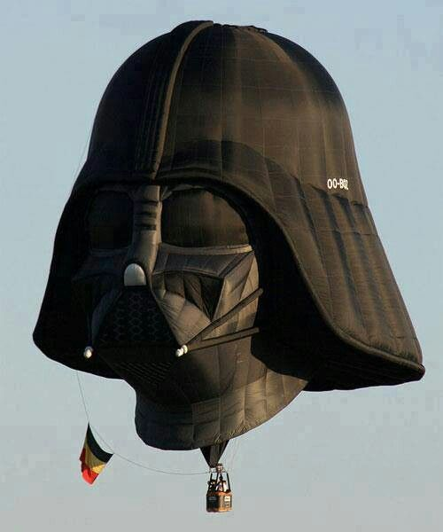 The best hot air balloon ever!