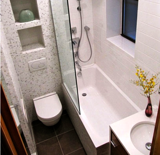 contoh desain kamar mandi minimalis  sederhana Home