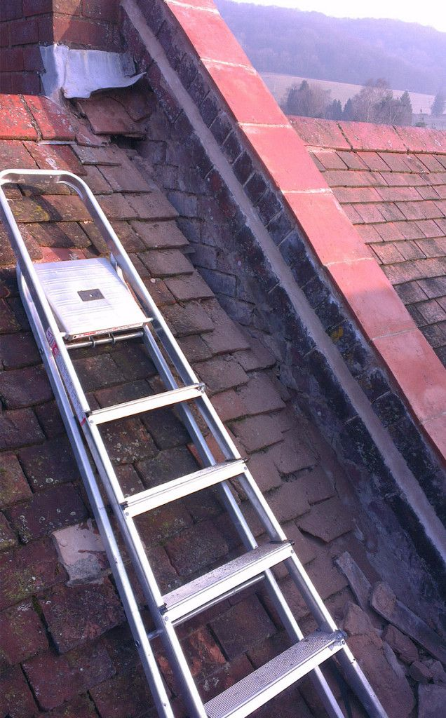 leaking victorian roof