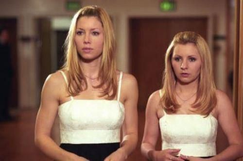 7th Heaven-Mary & Lucy Camden (Jessica Biel & Beverly ...