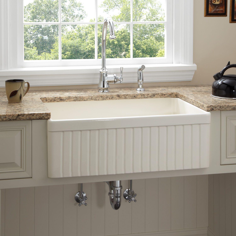 farmhouse sink installation types