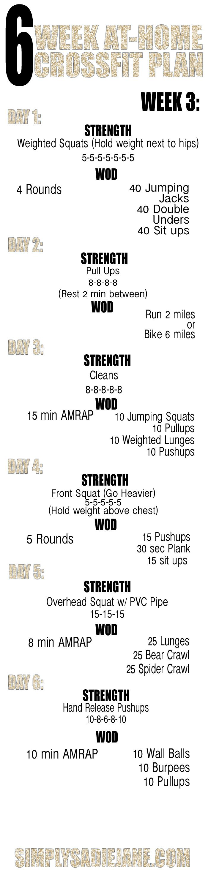 6 week fitness plan Benefits of this 6-week conditioning plan from stack expert giovanni grassi: an increase in relative body strength, speed endurance, stamina & mental toughness.