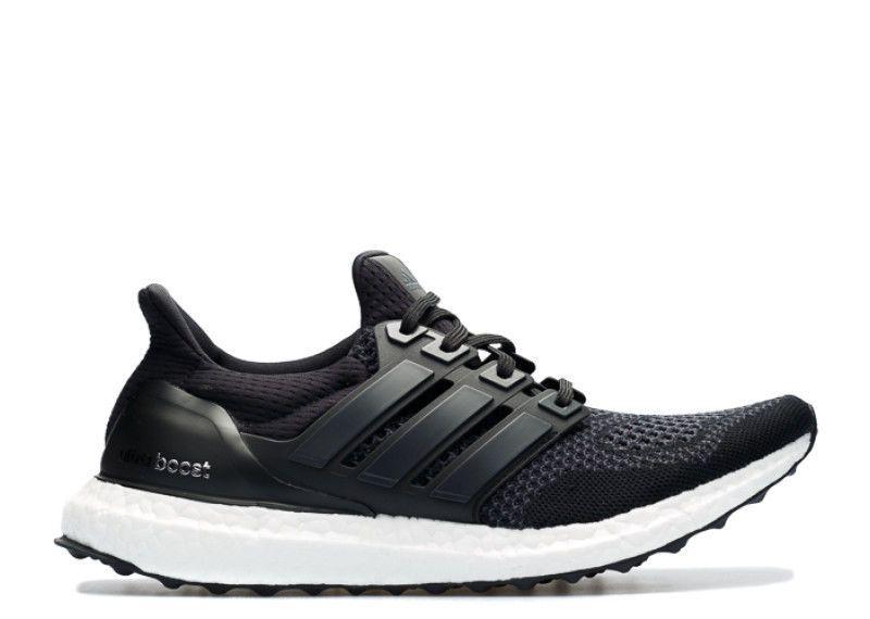 New Mens ADIDAS Ultra Boost 1.0 S77417 Black Running Sneaker