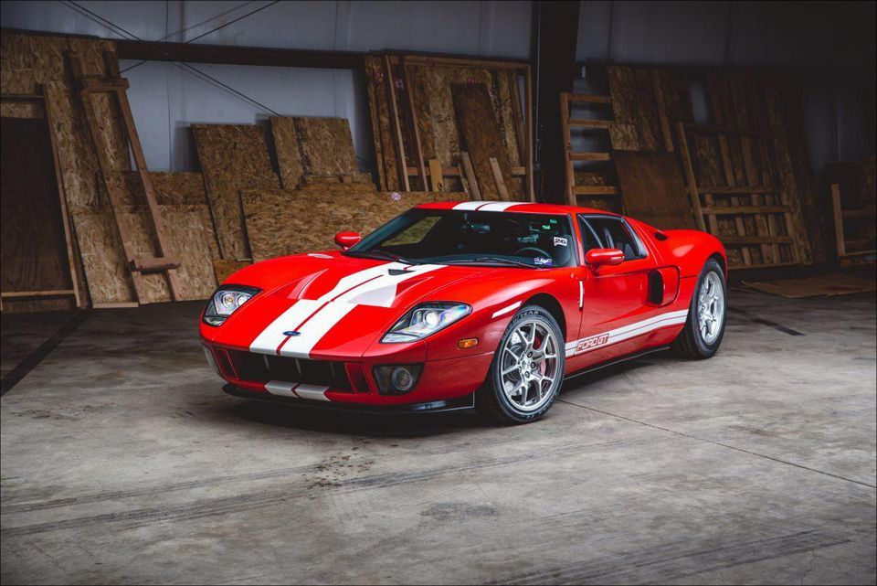 Rm Sothebys Offers All Options 2006 Ford Gt With 11 7 Miles In
