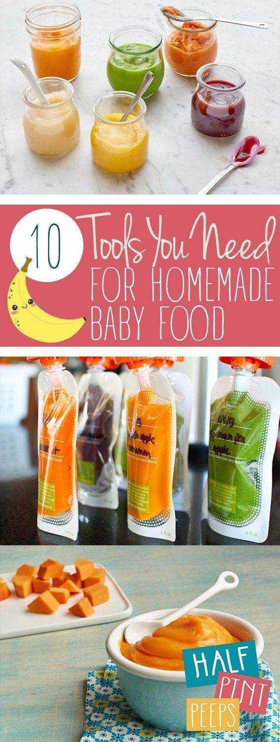 10 Tools You Need for Homemade Baby Food in 2020 | Baby ...