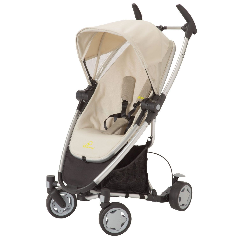 Quinny Zapp Xtra Stroller with Folding Seat, Natural Mavis