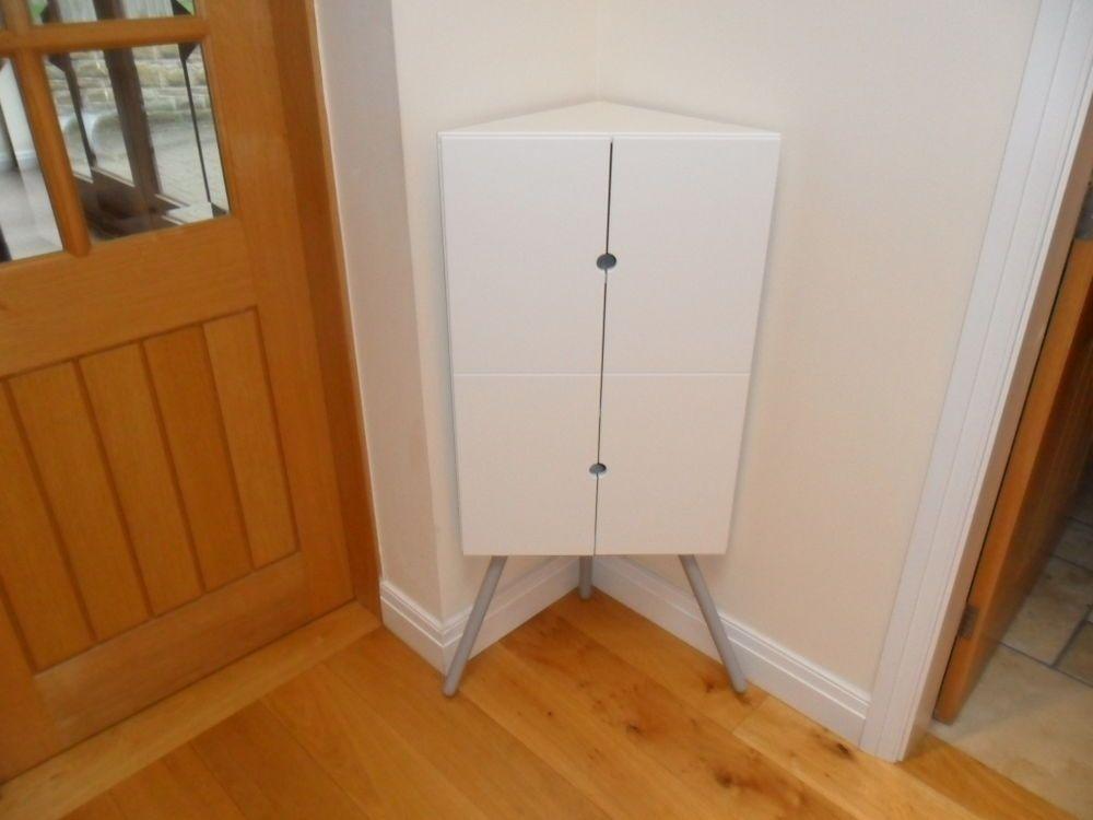 Best Ikea Ps 2014 Corner Cabinet White Grey Understairs 400 x 300