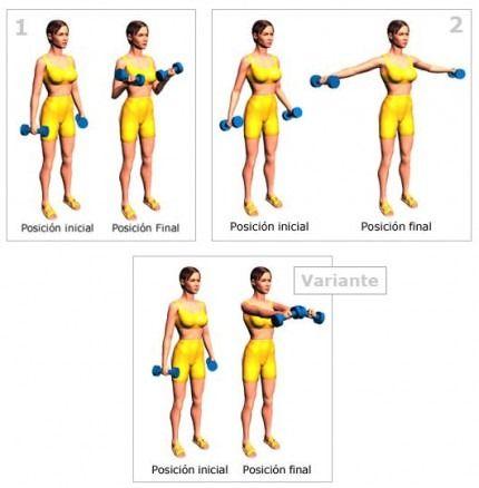 como hacer ejercicios para adelgazar brazos