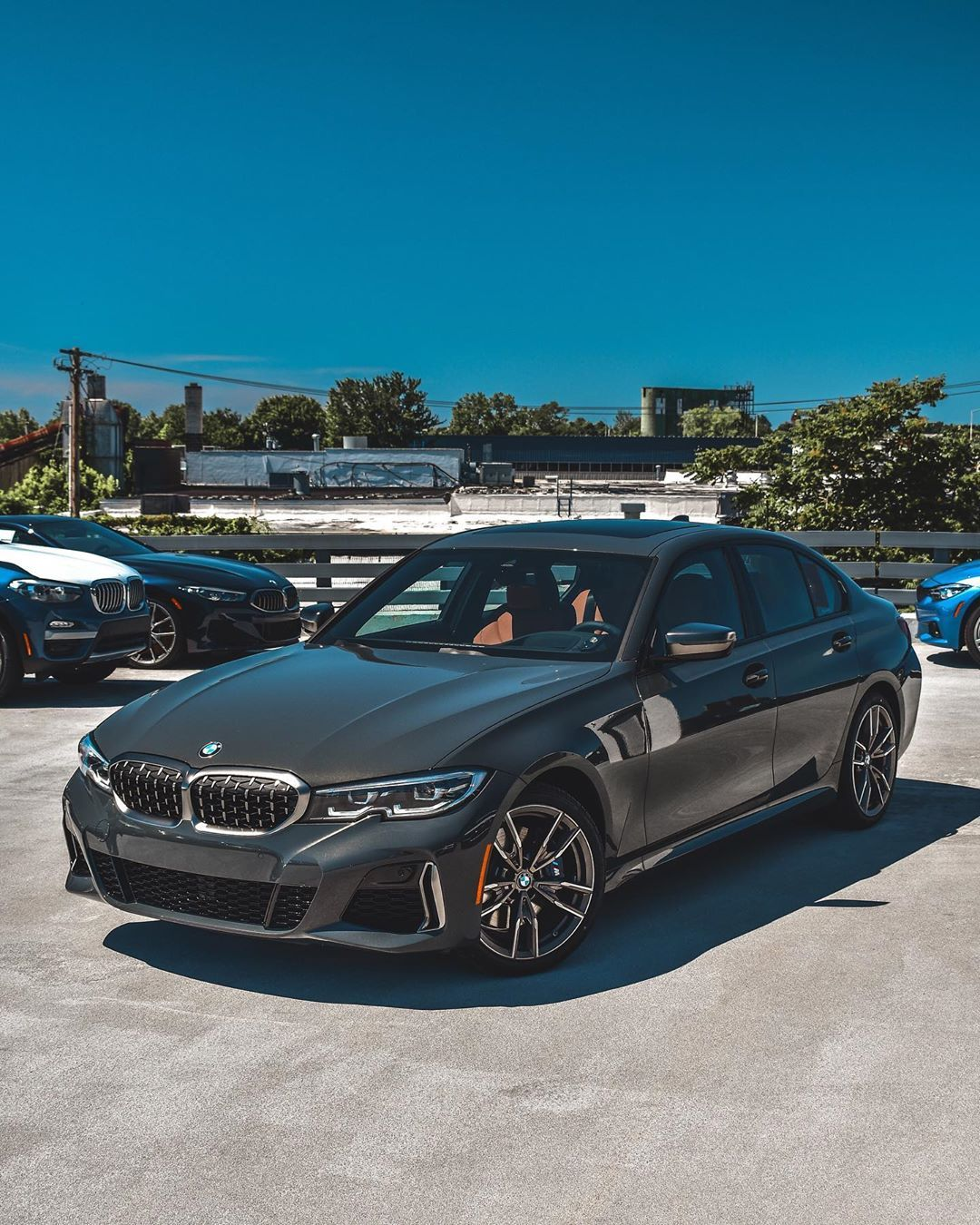 Our Brand New 2020 Bmw M340i In The Showstopping Dravit Grey Presenting Its Bmw Style 792m Cerium Grey Wheels Is This The Best Looking