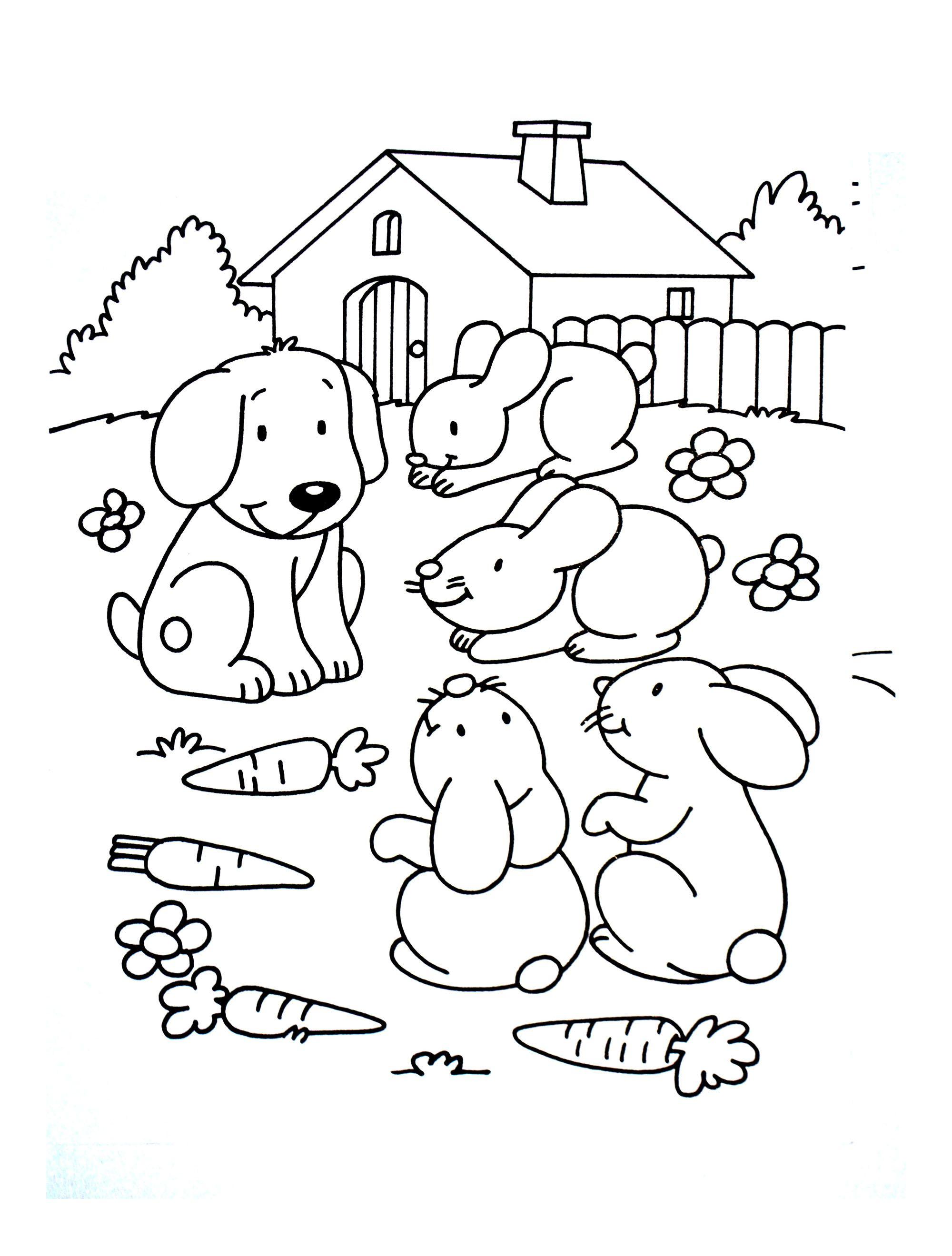 Coloriage De Ferme A Imprimer Gratuit.Trouver 25 Coloriage A Imprimer Gratuit Animaux De La Ferme