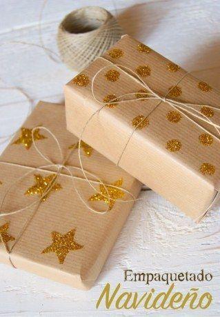 Envoltorios originales DIY esta Navidad sorprende con tus regalos
