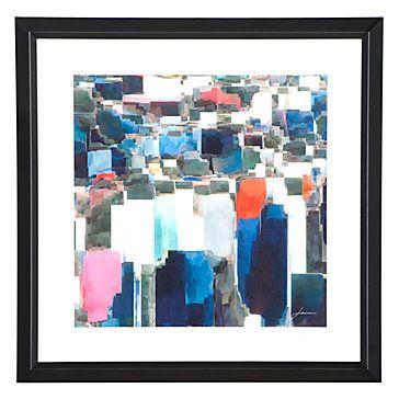 Building Block 1 | Framed Art | Art by Type | Art | Z Gallerie