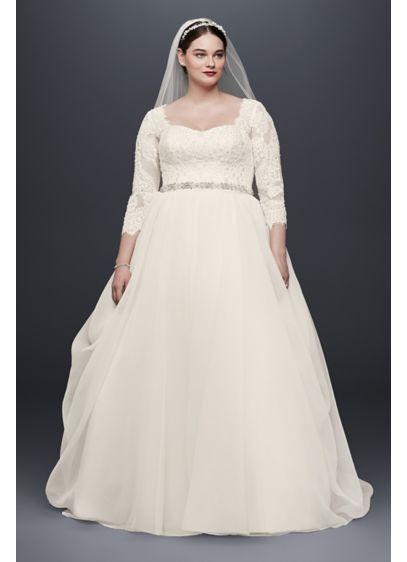 9efc281ab770d Long Ballgown Formal Wedding Dress - Oleg Cassini