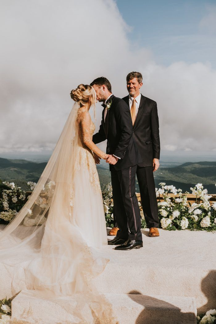 This Primland Resort Wedding Brought Glamour And Gold To