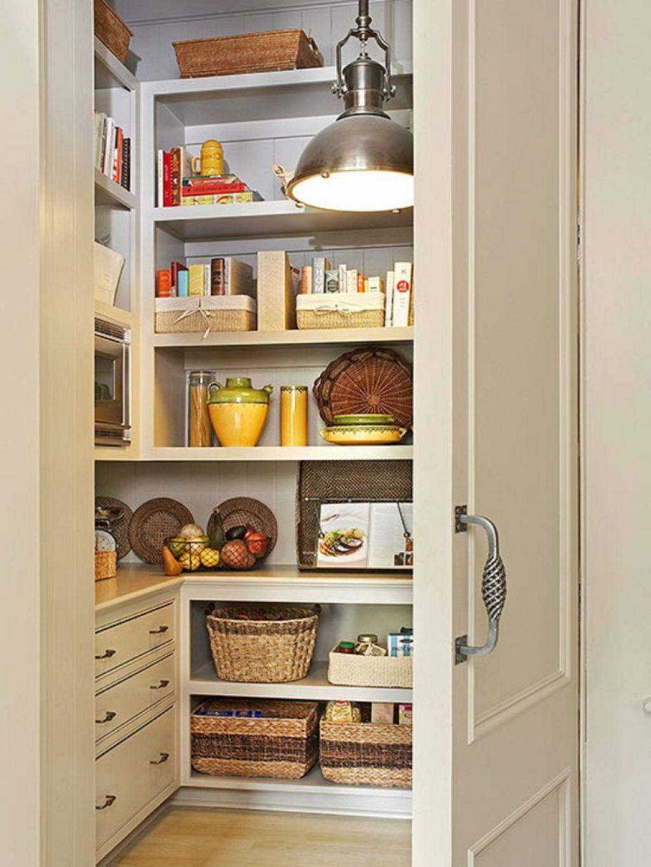 Kitchen , Kitchen Pantry Ideas for Elegant Cooking Space