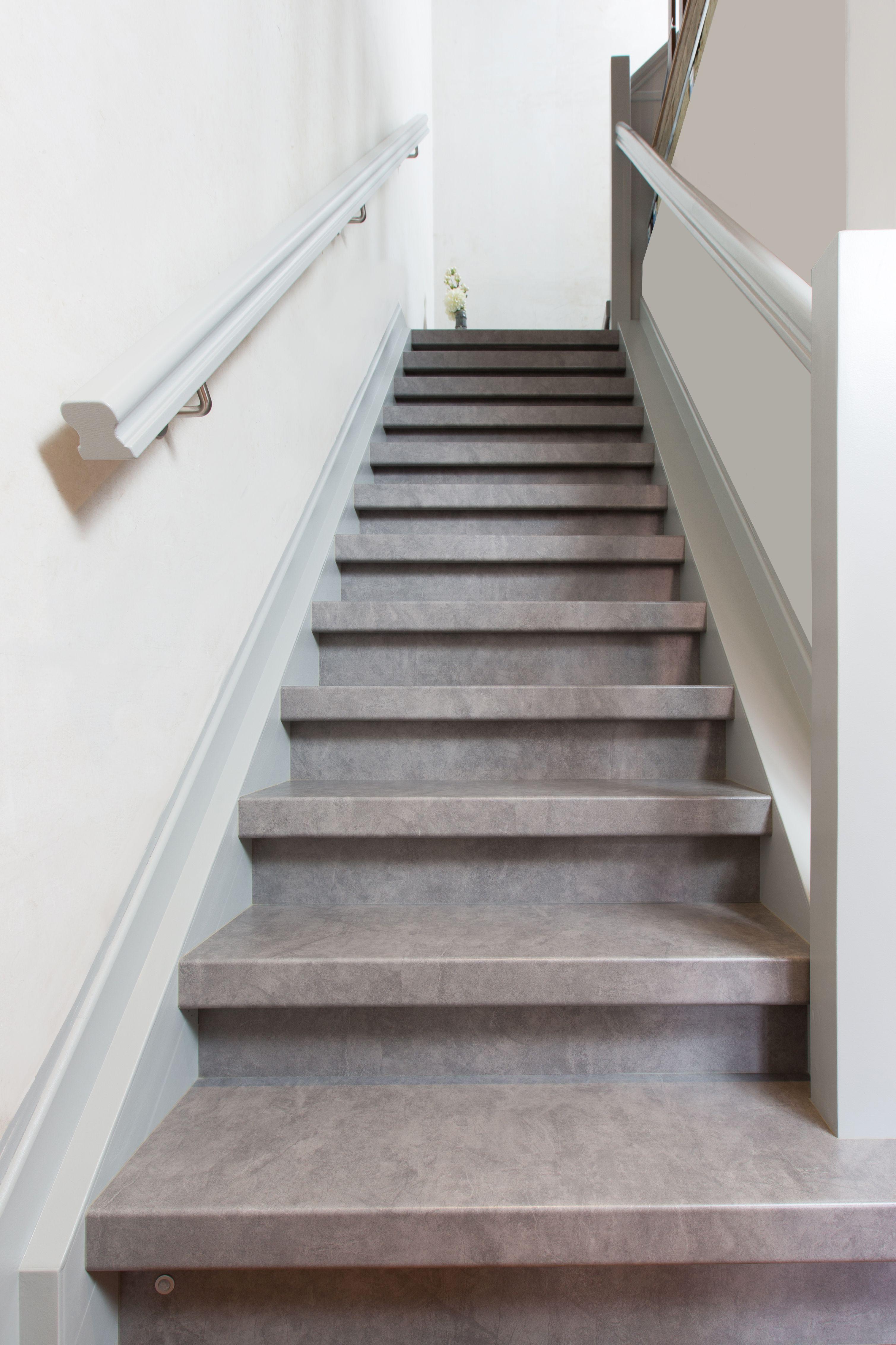 Genoeg Mooie NEWstairs kleur Stone Truffle traptreden en stootborden XE11