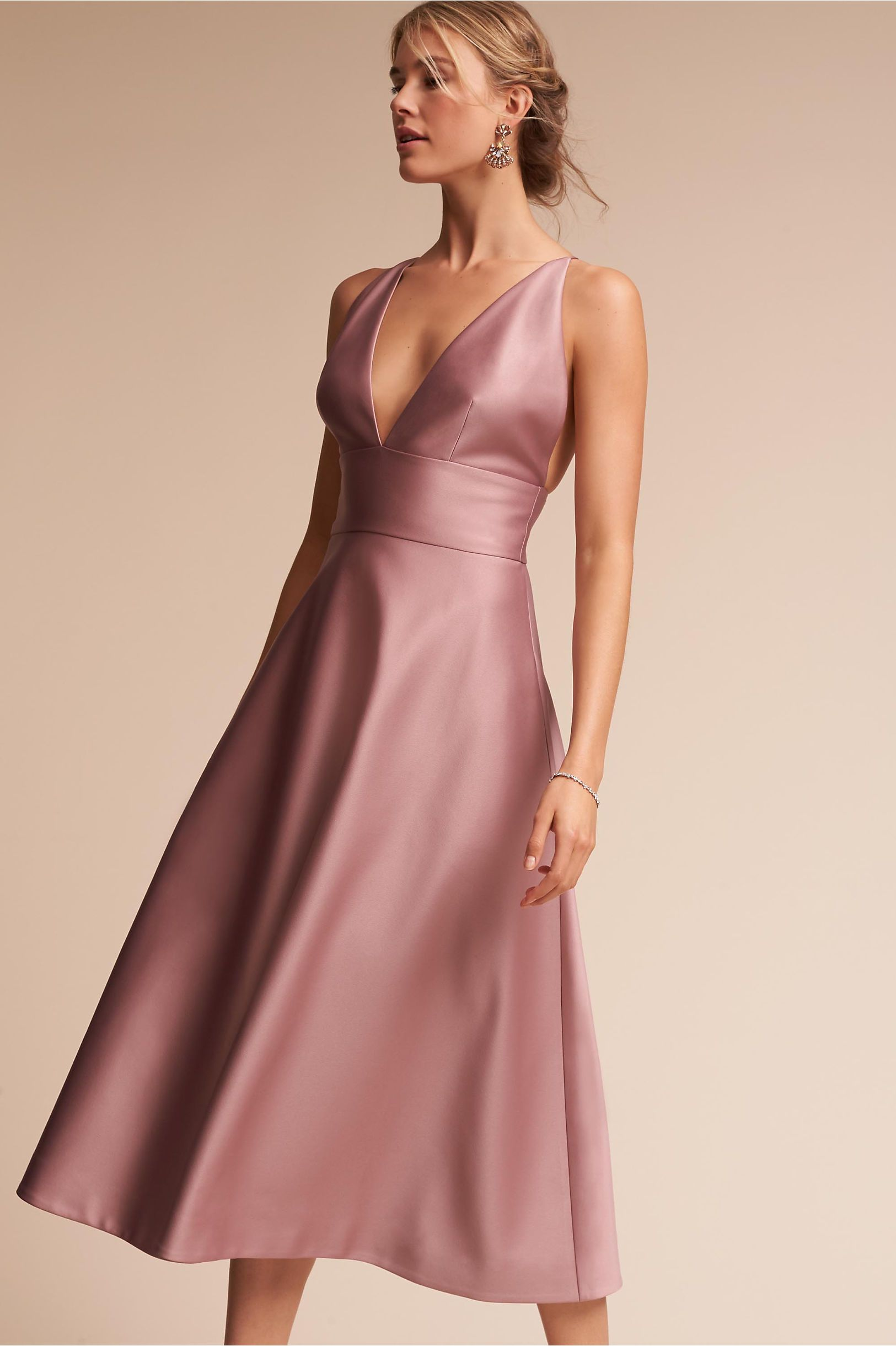 BHLDN\'s Hitherto Shelby Dress in Rose Quartz | Eterno femenino ...