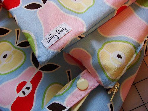 Wet bag freebook, Tasche für Schmutzwäsche, nasse Wäsche ...