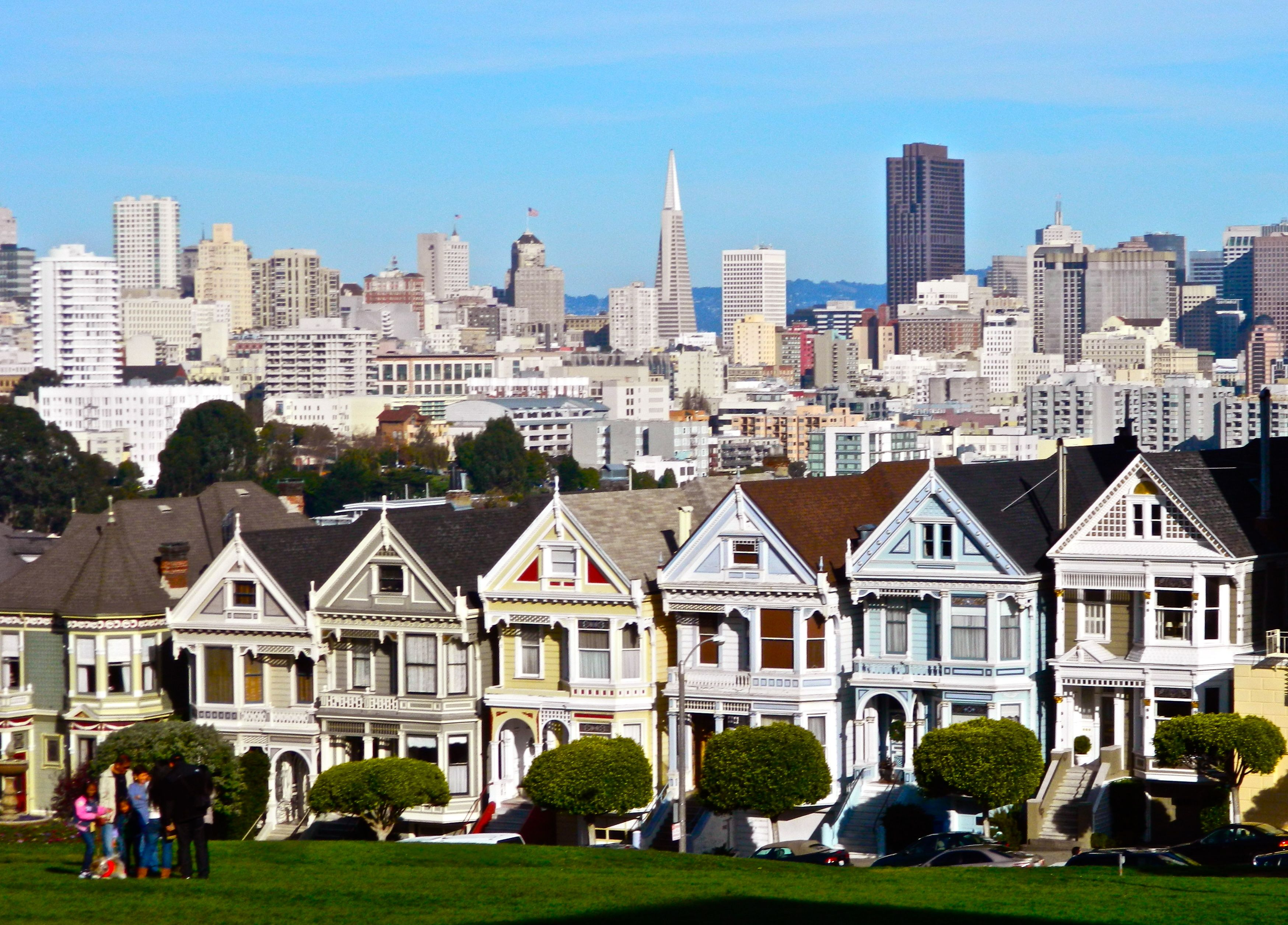 painted ladies san francisco our streets of san francisco pinter. Black Bedroom Furniture Sets. Home Design Ideas
