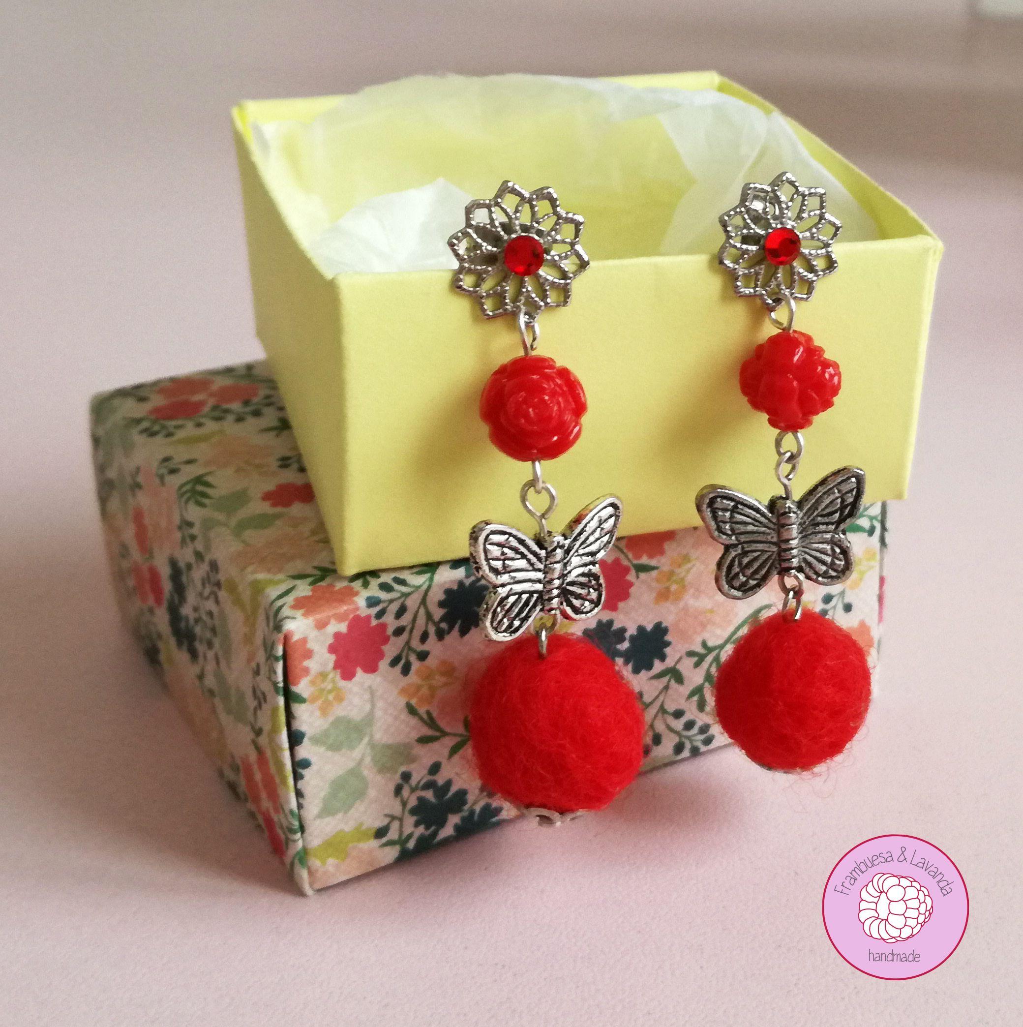 #pendientes #fieltro #hechoamano #handmade #complementos #earring