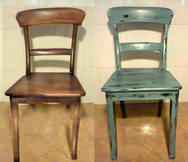 Resultado de imagen de reciclar muebl con pintura a la for Pintura de tiza para muebles