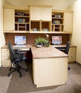 Home Office Two Desks Home Office Desks Home Office Decor Home Office Design
