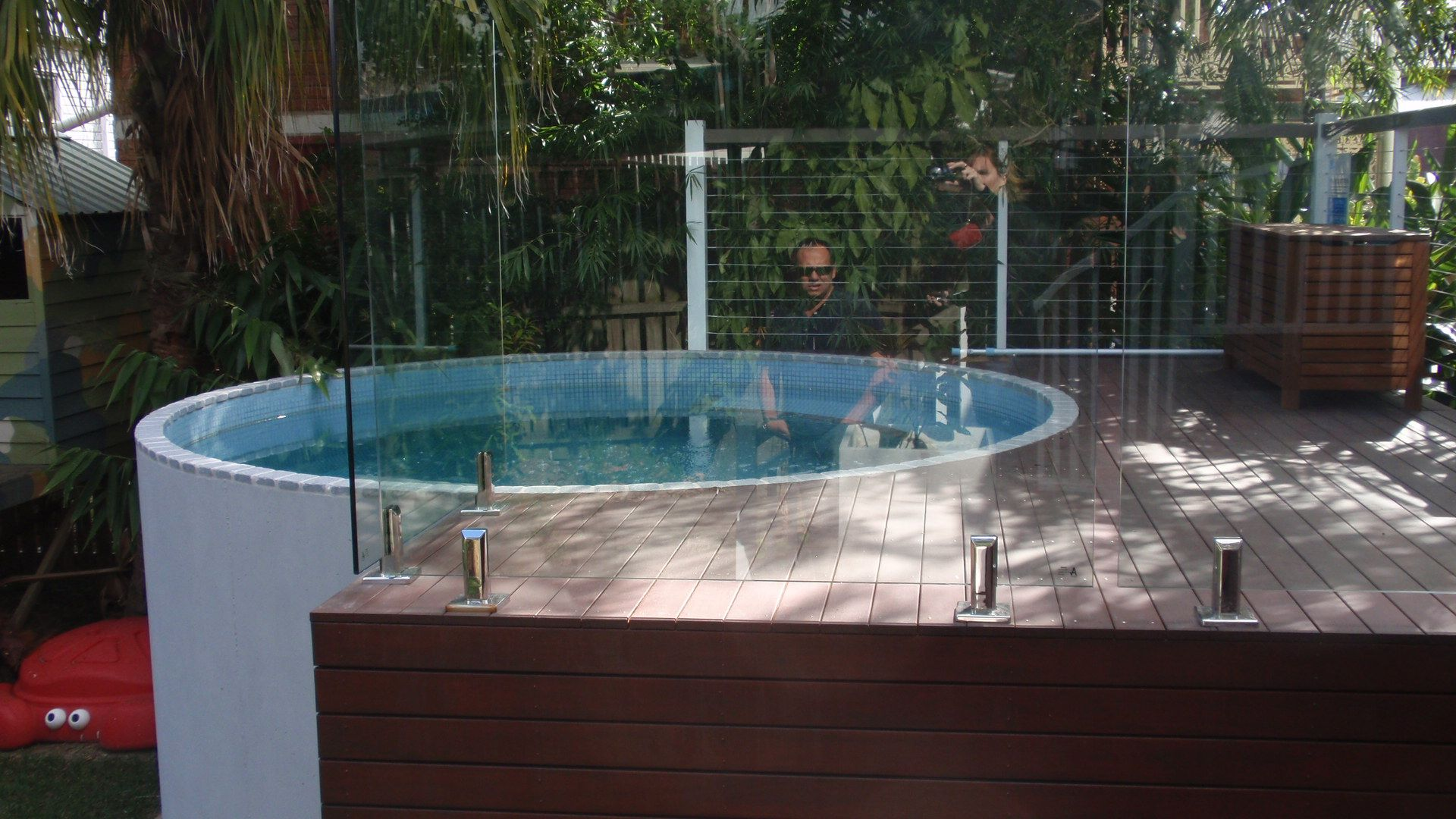 Jacuzzi Outdoor Above Ground Small