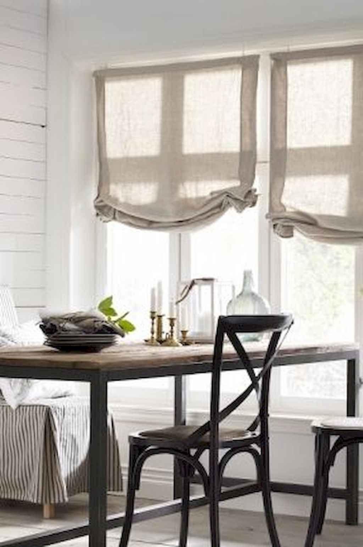 70 pretty farmhouse kitchen curtains decor ideas 35