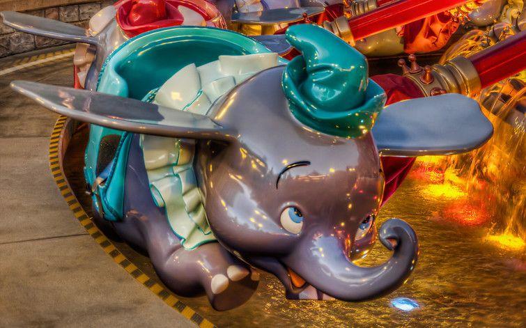 """Dumbo the Flying Elephant""#fantasyland #disneyland from Michaela Hansen at www.toursdepartingdaily.com - #toursdepartingdaily #disney"