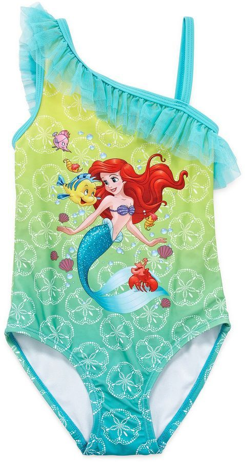 e09eef9d30 Little Mermaid Swimsuit for Pool Party!