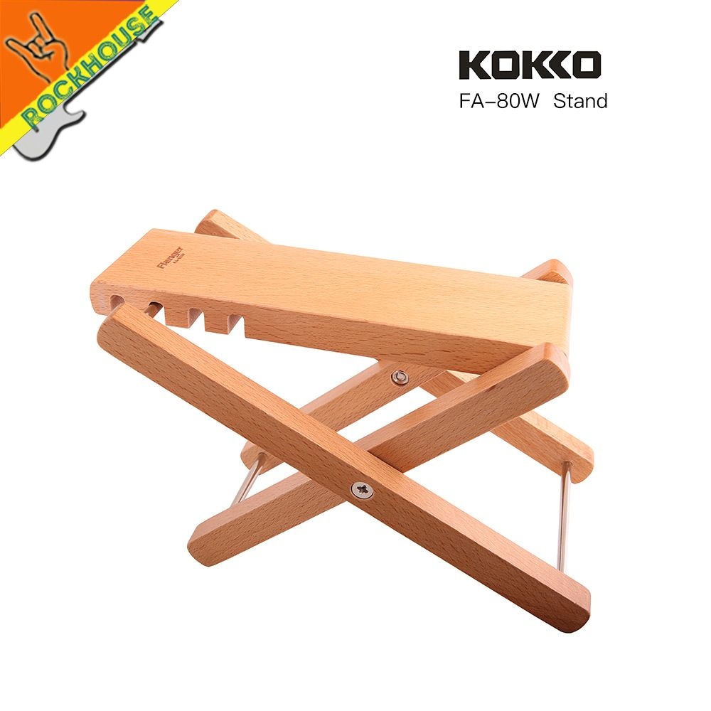 Foldable Wooden Guitar Foot Rest Stool Pedal 4-level Adjustable Height Beech Wood Material Sports & Entertainment Stringed Instruments