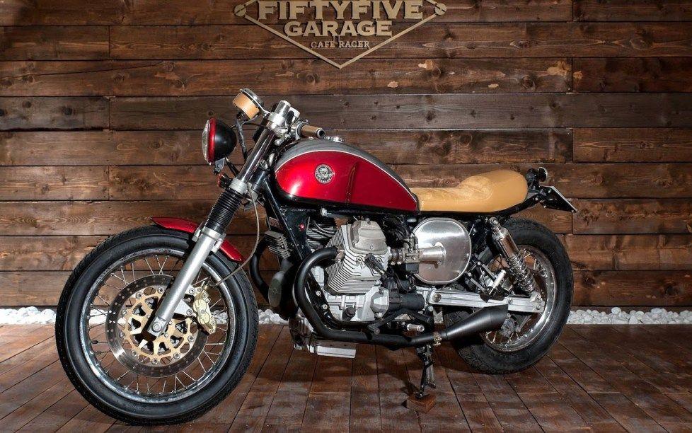 Moto Guzzi Nevada 750 Dharma Fiftyfive Garage Inazuma Cafe