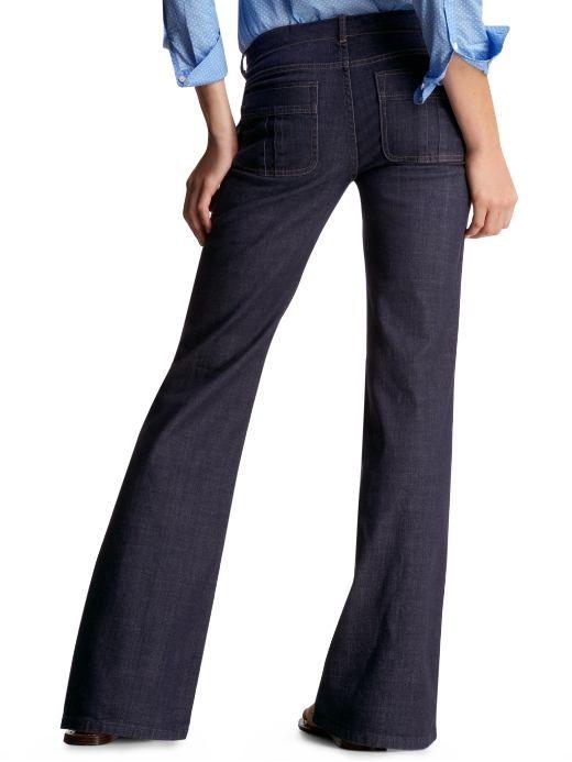 Women's Clothing: Women's Clothing: Sailor jeans: Trouser Jeans ...