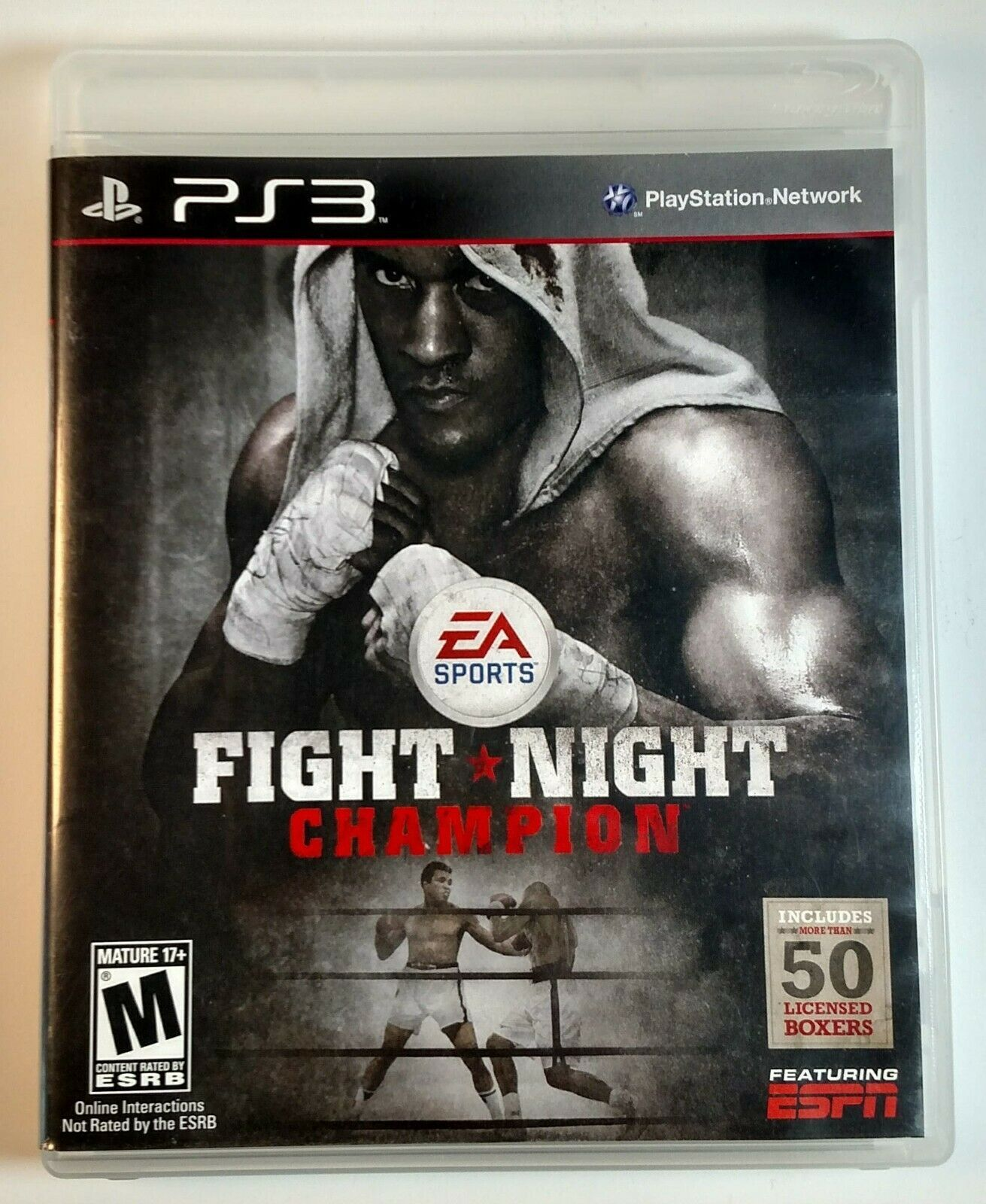 Fight Night Champion PS3 Playstation 3 Boxing EA Includes