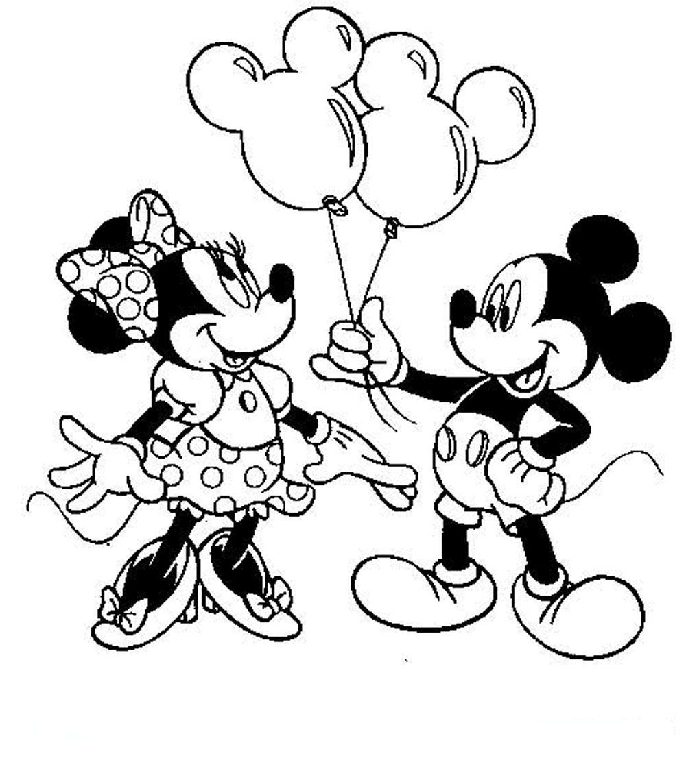 Minnie Coloring Pages Babyminniecoloringpages
