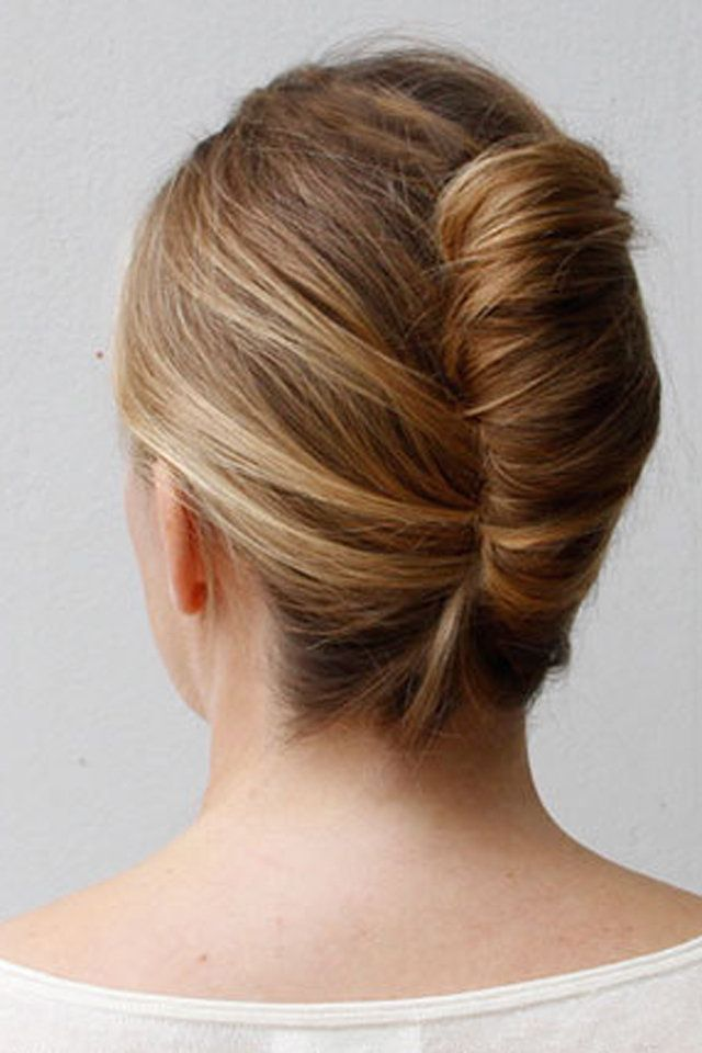 Image result for french twist hairstyle | French twist hair, Prom ...