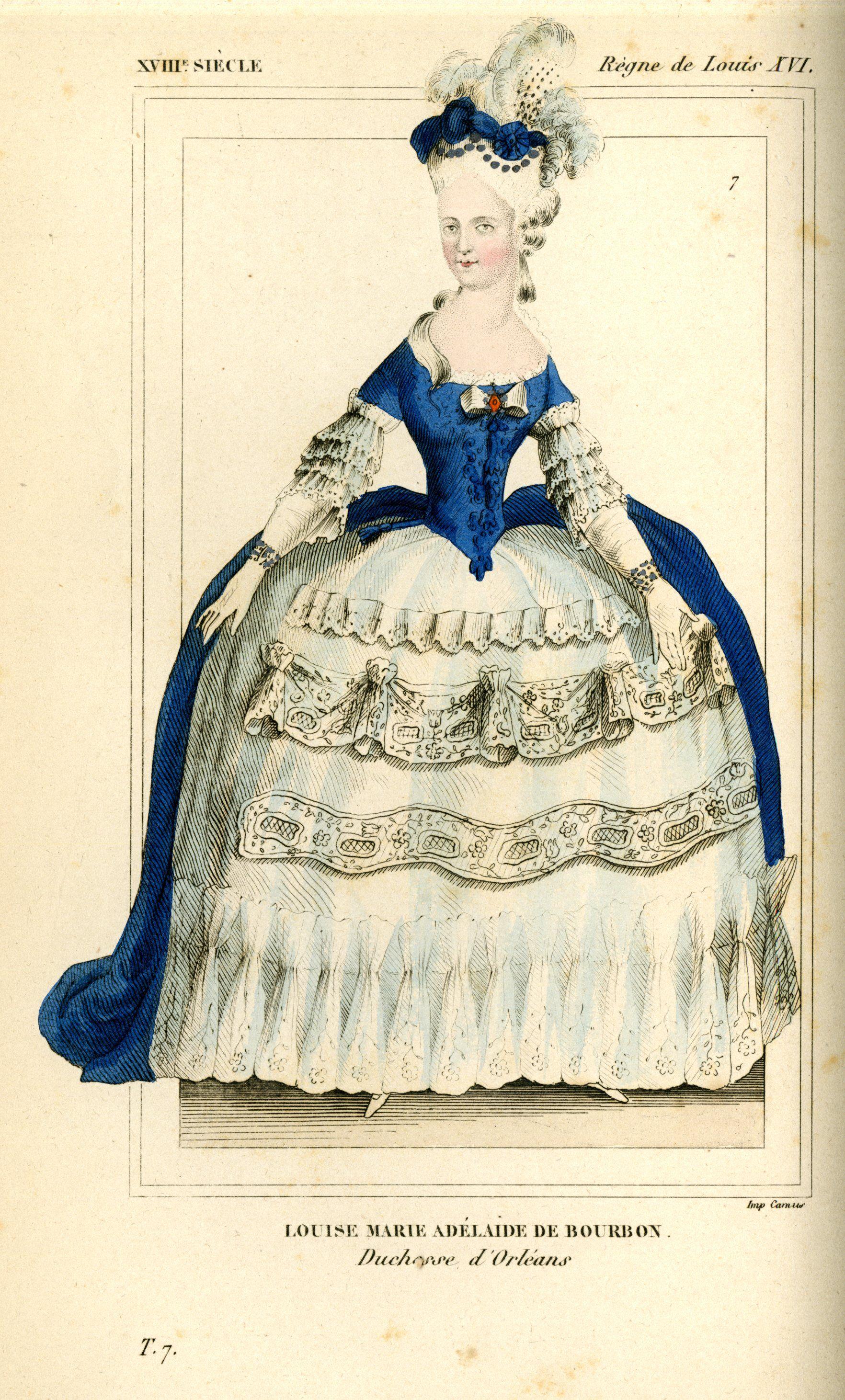 Costumes Historiques de la France, par le Bibliophile Jacob. 1852, vol. 7,  plate 7