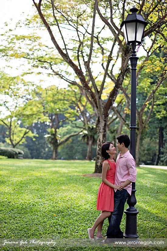 Engagement Photography At Singapore Botanic Garden Singapore Botanic Gardens Prewedding Photography Botanical Gardens