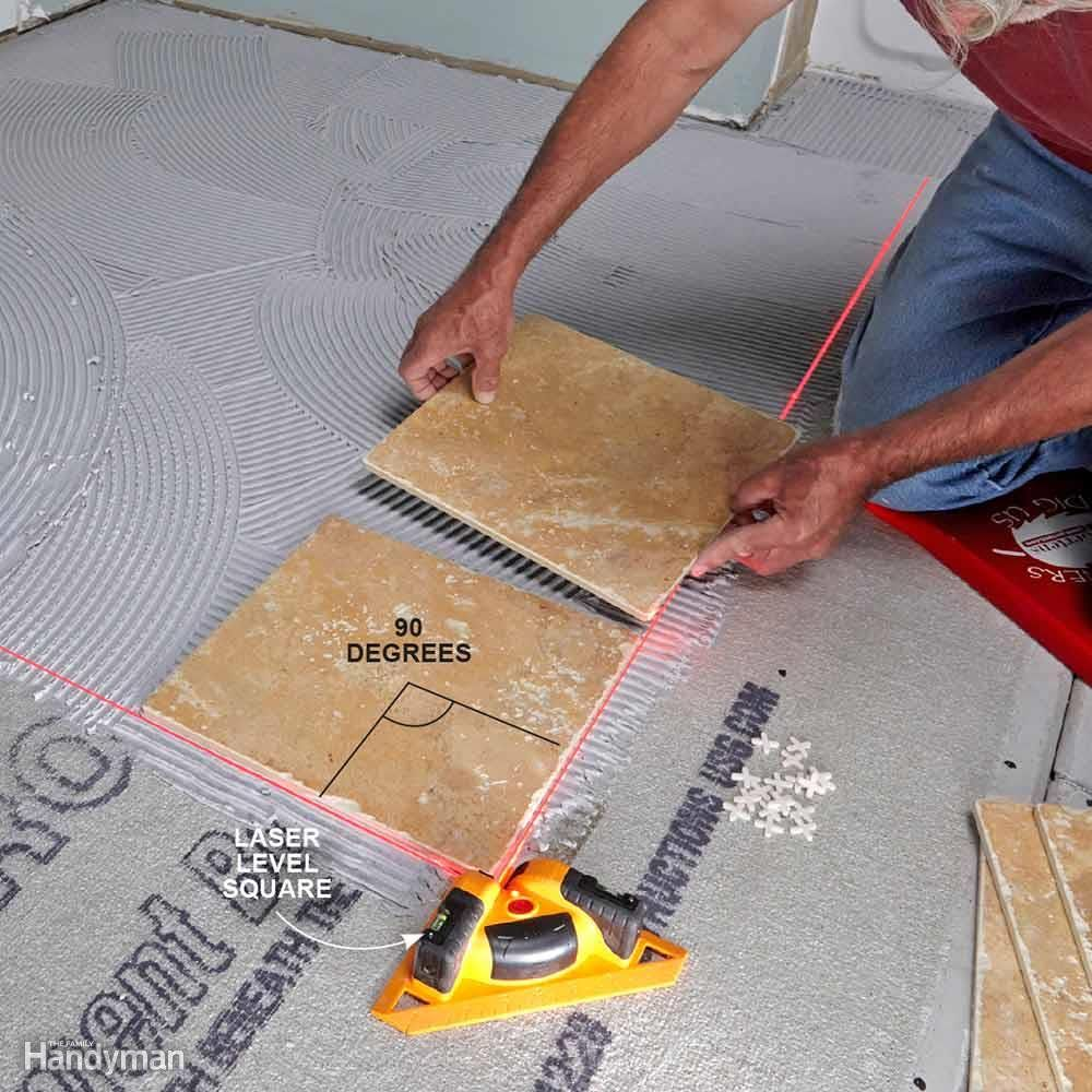 how to use a laser level remodeling