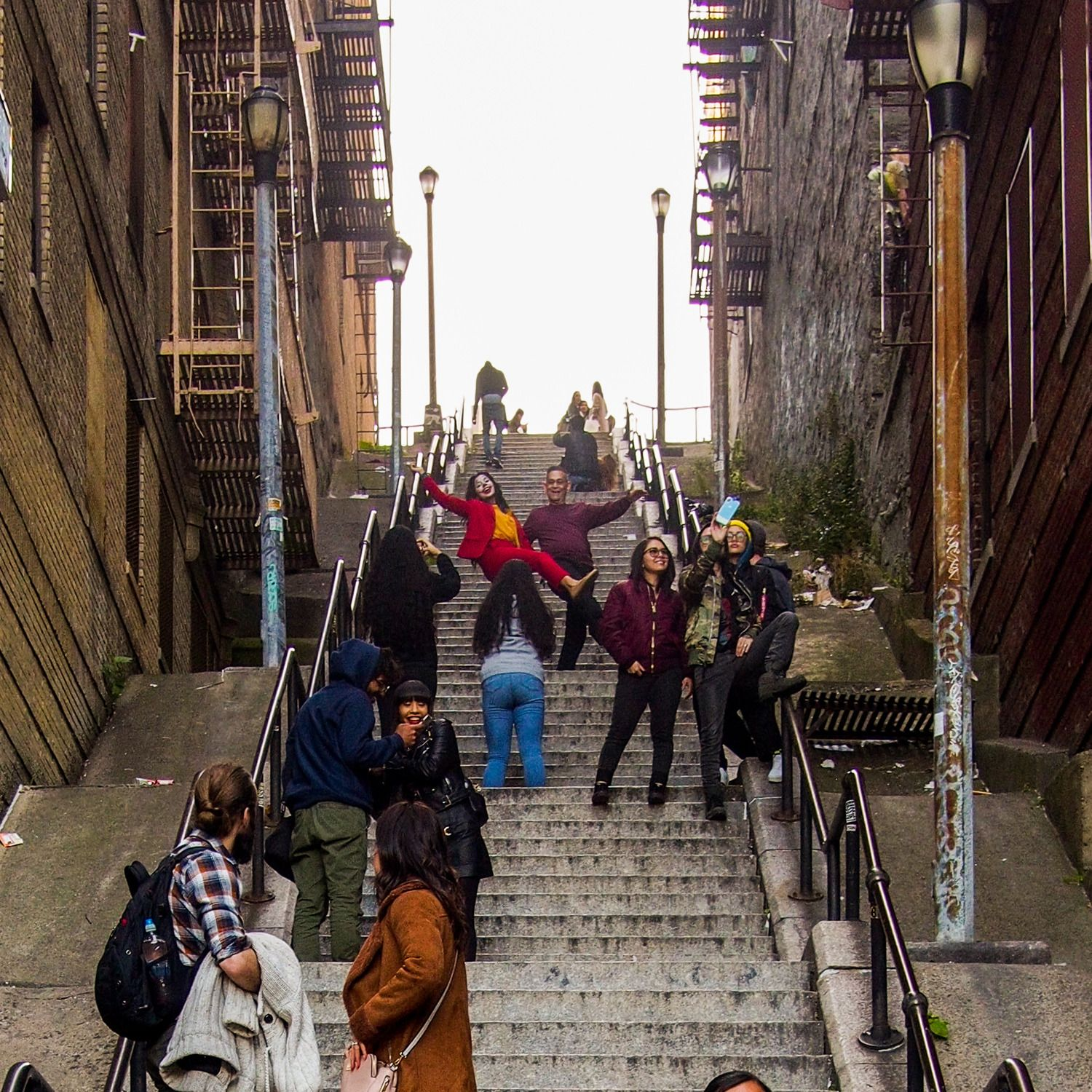 An Afternoon at the Joker Stairs, New York's Newest