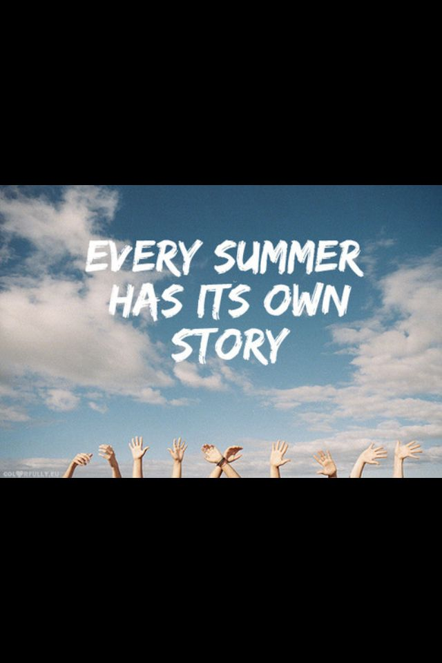 Summer, Story And Own Image On We Heart It