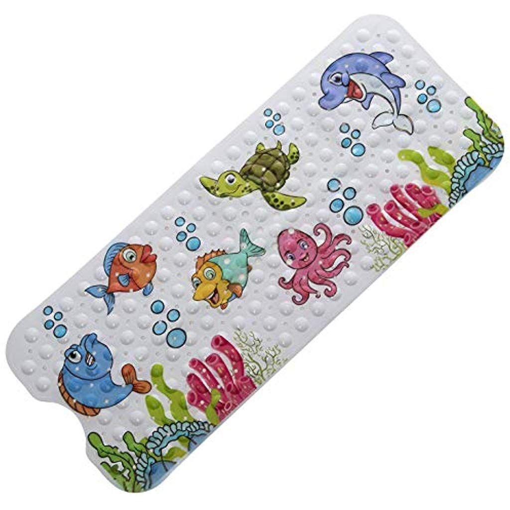 Magic Ideas Rutschfeste Kinder Badewannenmatte Schimmelresistent Und Maschinenwaschbar Antirutschmatte Mit Motive Badewannenmatte Duschmatte Antirutschmatten