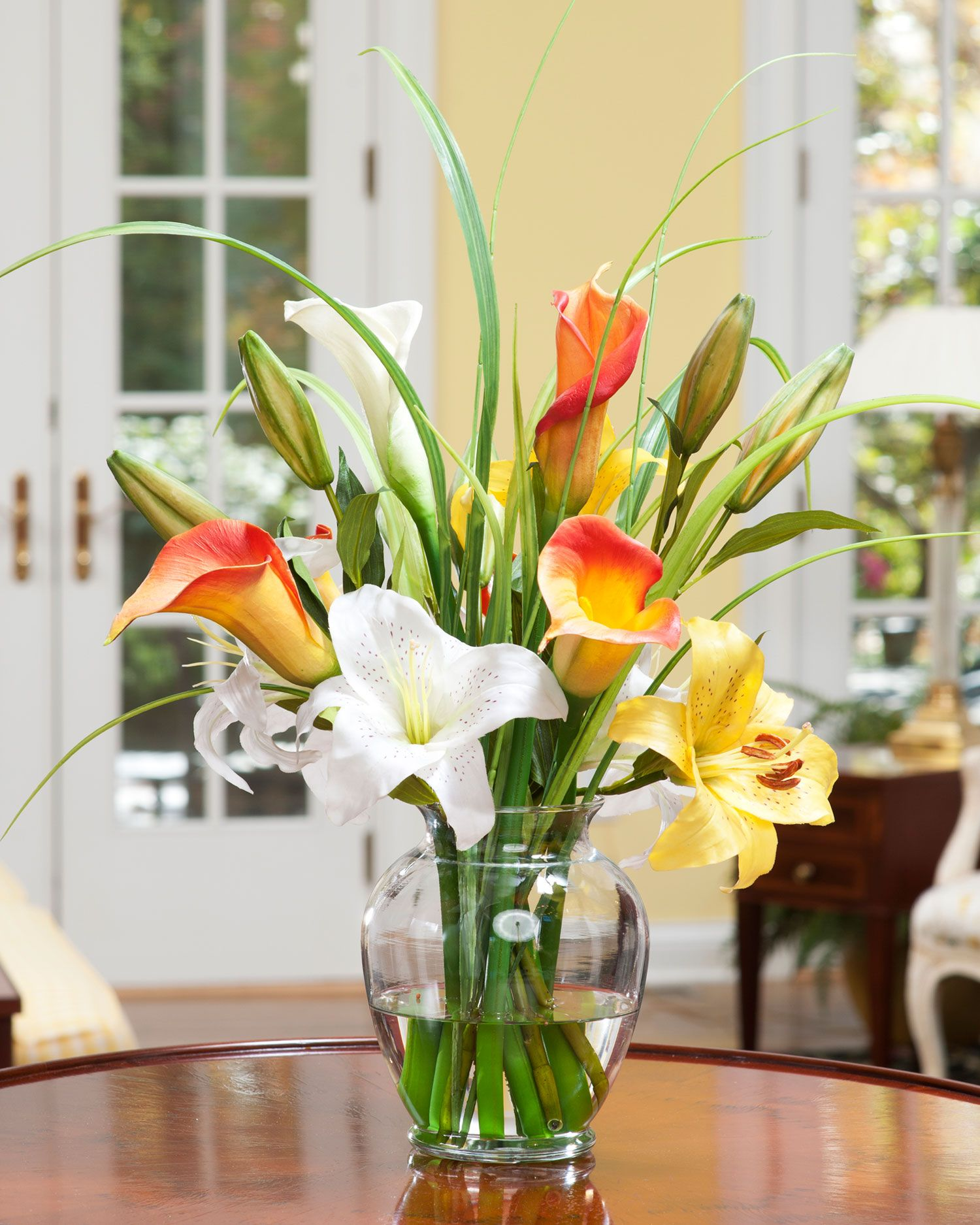 Calla day lily silk flower accent silk flowers and faux flowers calla day lily silk flower accent reviewsmspy