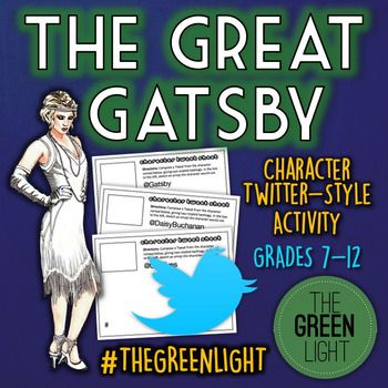 The Great Gatsby Twitter Style Activity Bell Ringers
