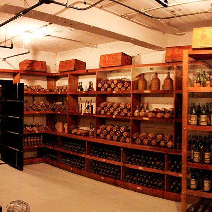Wine Cellar Although William Randolph Hearst Was A Moderate