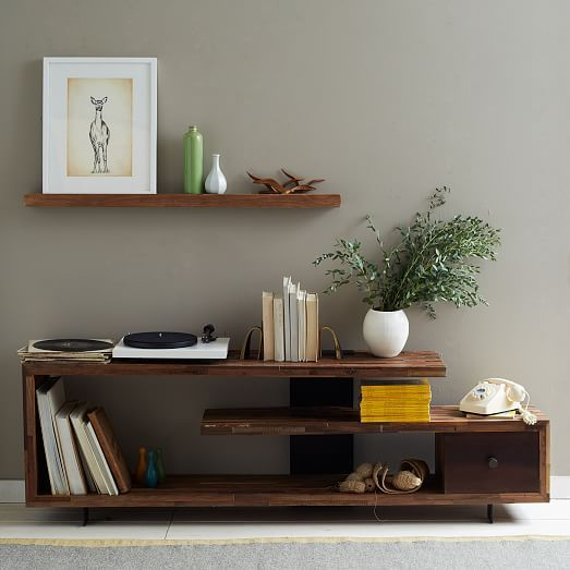 """Staggered Wood Console (76"""")"""