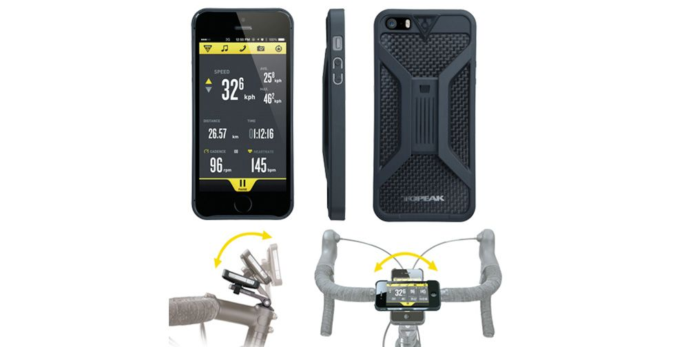 The Topeak Ridecase Makes It Easy To Get By Without A Garmin
