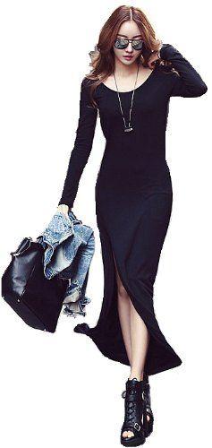 Amazon.co.jp: (willmatch) セクシー ドレス ワンピース チュニック ブラック 黒色 アパレル レディース ファッション 服 0034 ノベルティ付: 服&ファッション小物